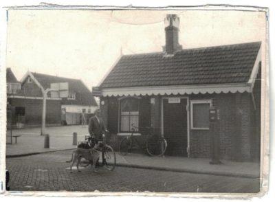 Kleinste politiebureautje ca 1960